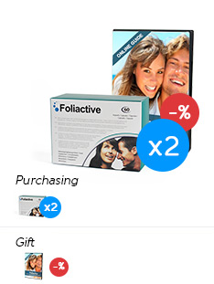 Foliactive Pills x2 .