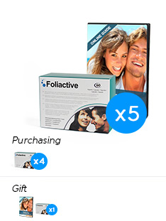 Foliactive Pills x4 .